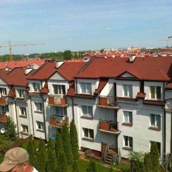 ul, Zachodnia, Białystok wymiana pokrycia gontem