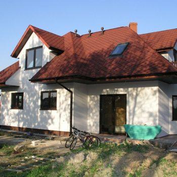 Nowa Iwiczna koło Warszawy (gont IKO plaster miodu)